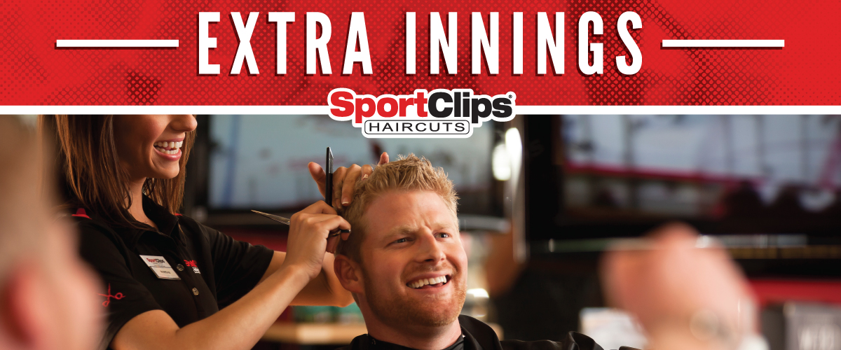 The Sport Clips Haircuts of Bartram Park Extra Innings Offerings